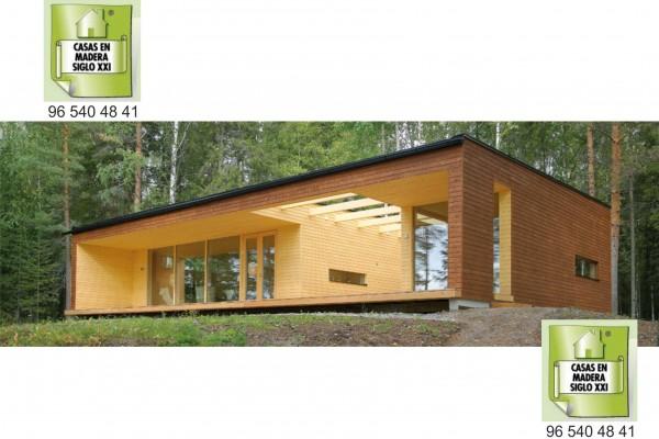 Casas de madera en Madera Siglo XXI – Casas Naturales 2592