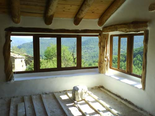 Casas ecológicas en Arkisoi Bioconstrucción 1388