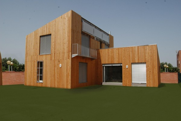 Casas ecológicas en Casa Eficient 3912