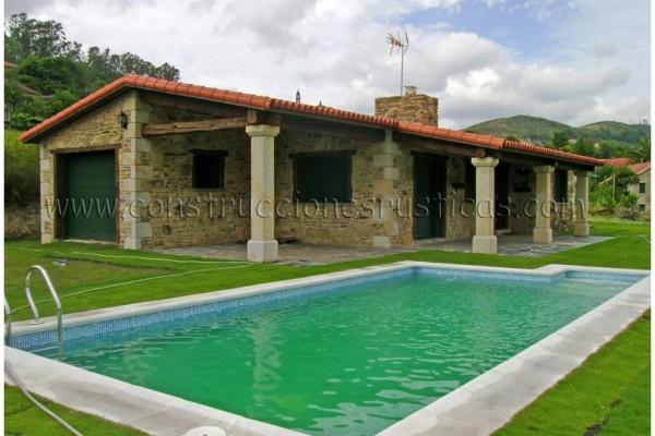 Casas incre bles en construcciones r sticas gallegas viviendu - Casas de una planta rusticas ...