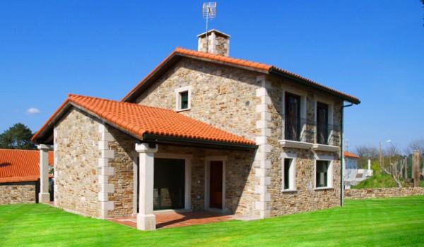 Casas rusticas de campo rustic home casa rstica casa de campo casa de madeira com pedra - Modelos de casas de piedra ...