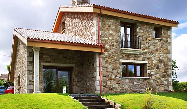 Casas de piedra viviendu - Casas piedra y madera ...