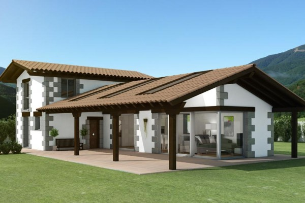 Casas modulares en Aldocain Modular 4526