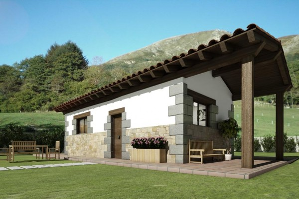 Casas modulares en Aldocain Modular 4527