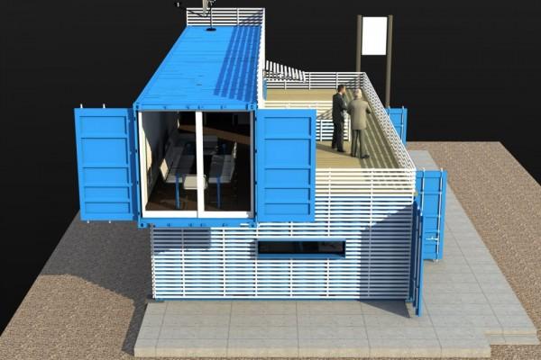 Casas modulares en Aurtenetxea Containers 1798