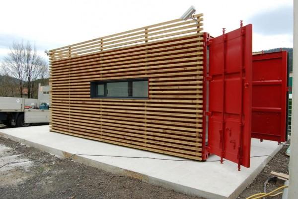Casas modulares en Aurtenetxea Containers 1808