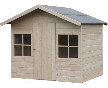Casetas de madera viviendu for Casetas para perros aki