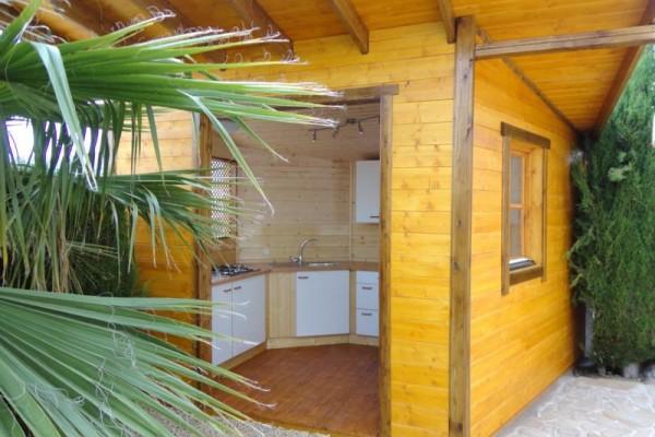 Casetas de madera en Amadera Deluxe 5014