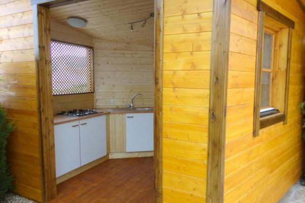 Casetas de madera en Amadera Deluxe 5015
