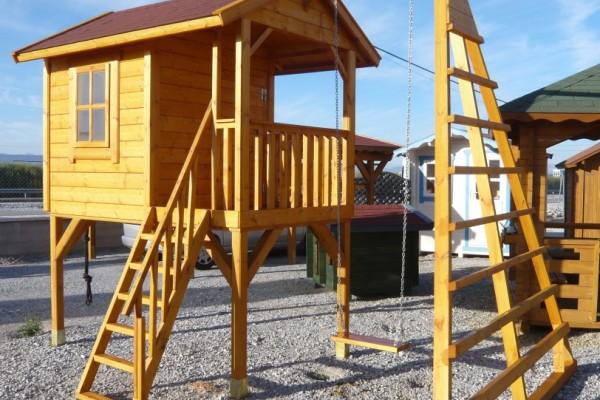Casetas de madera en Amadera Deluxe 5017
