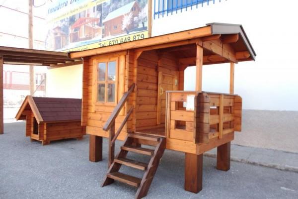 Casetas de madera en Amadera Deluxe 5019
