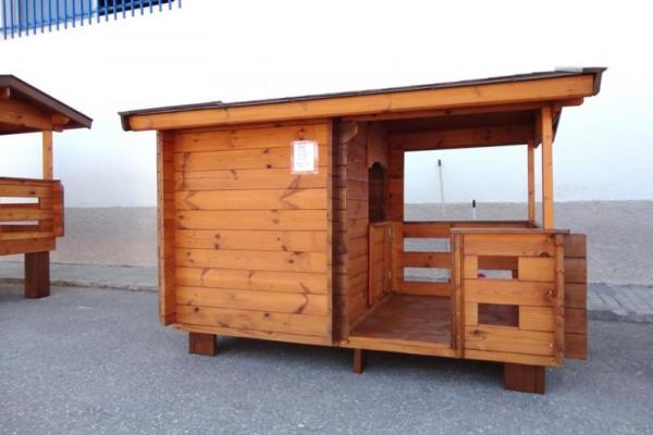 Casetas de madera en Amadera Deluxe 5020