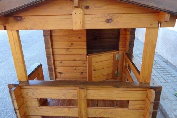 Casetas de madera en Amadera Deluxe 5021
