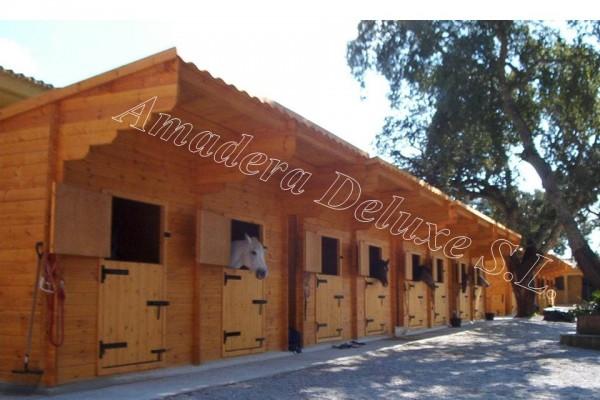 Casetas de madera en Amadera Deluxe 5024