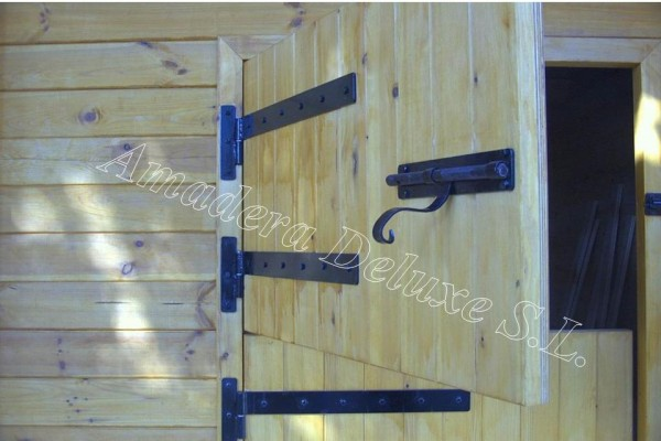 Casetas de madera en Amadera Deluxe 5025