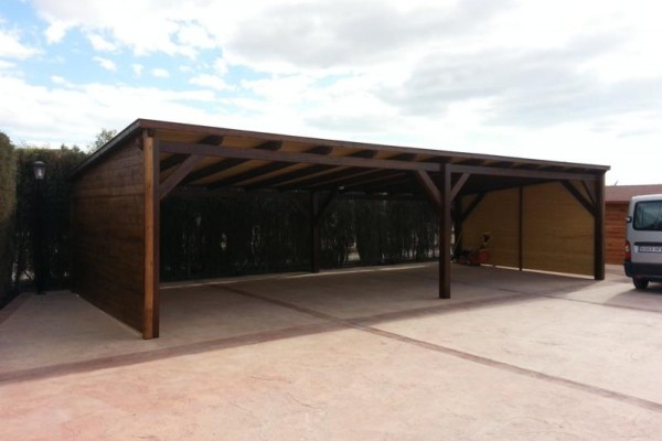 Casetas de madera en Amadera Deluxe 5026