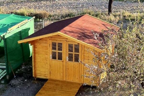 Casetas de madera en Amadera Deluxe 5027
