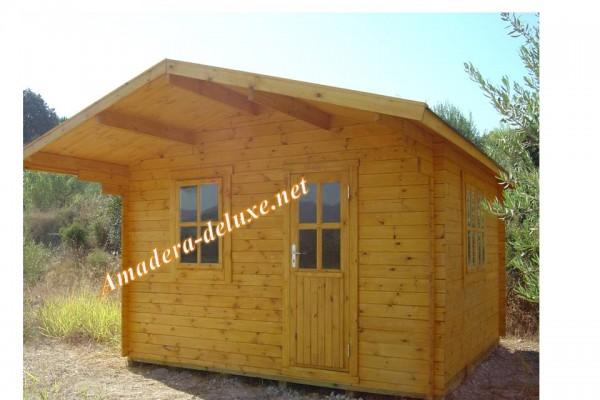 Casetas de madera en Amadera Deluxe 158