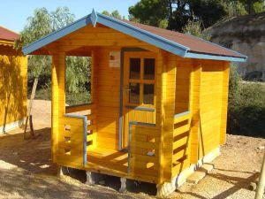 Casetas de madera en Amadera Deluxe 159