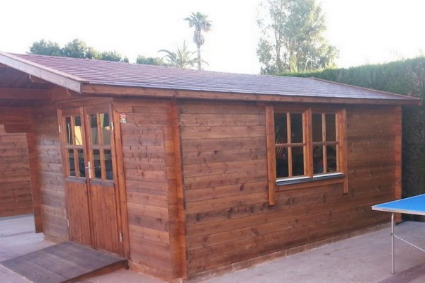 Casetas de madera en Amadera Deluxe 161