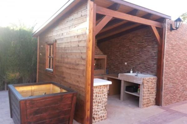 Casetas de madera en Amadera Deluxe 5011