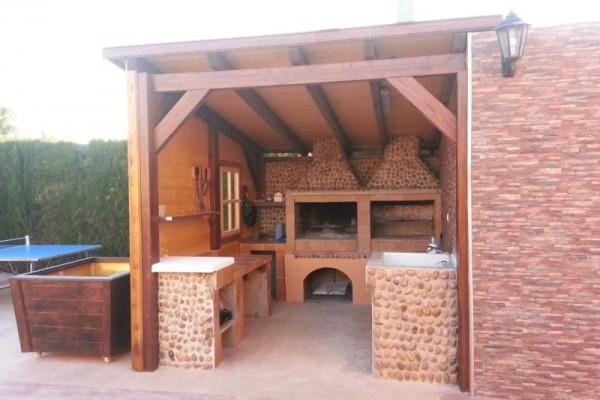 Casetas de madera en Amadera Deluxe 5012