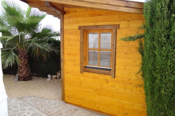 Casetas de madera en Amadera Deluxe 5013