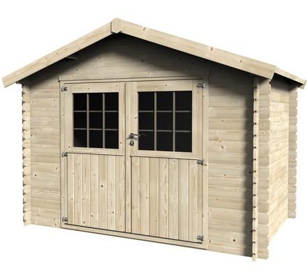Casetas de madera viviendu for Bricor casetas jardin