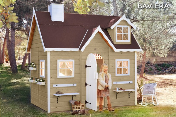 Casetas de madera en Green House 805