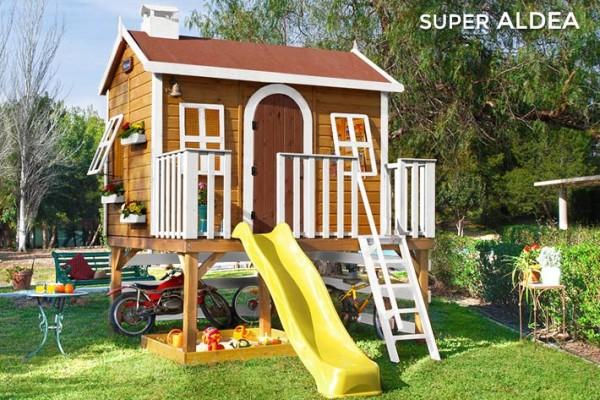 Casetas de madera en Green House 806
