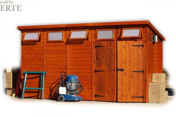 Casetas de madera en Green House 809