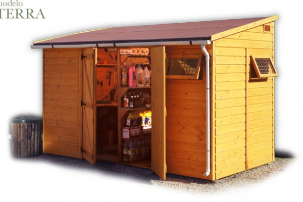 Casetas de madera en Green House 810