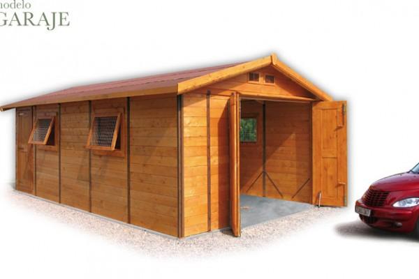 Casetas de madera en Green House 811