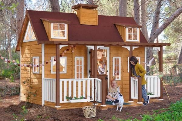 Casetas de madera en Green House 812