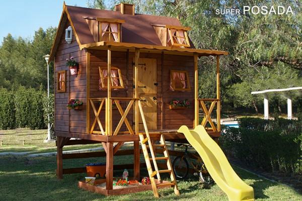 Casetas de madera en Green House 814
