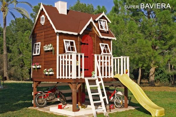 Casetas de madera en Green House 817