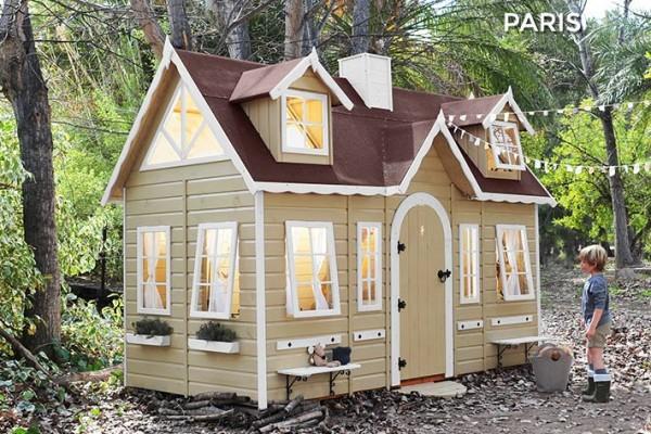 Casetas de madera en Green House 821