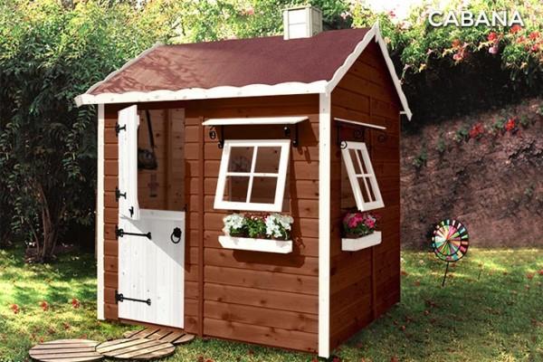 Casetas de madera en Green House 822