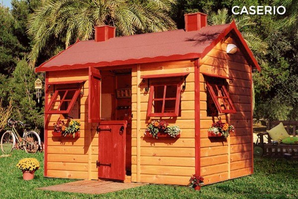 Casetas de madera en Green House 831