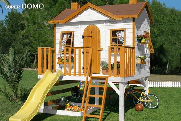 Casetas de madera en Green House 834