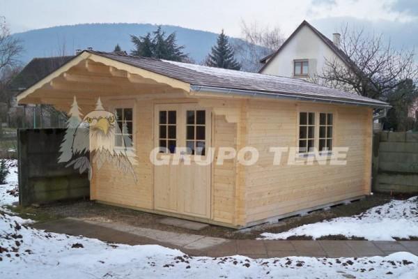 Casetas de madera en Grupo Tene 4151