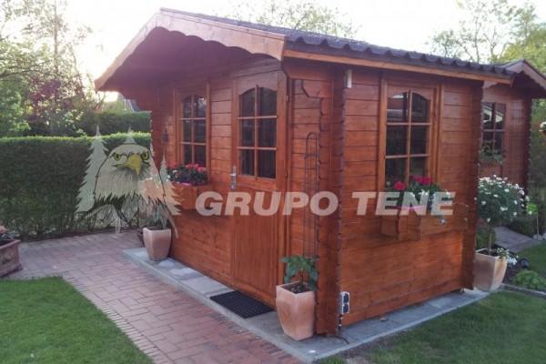 Casetas de madera en Grupo Tene 4156