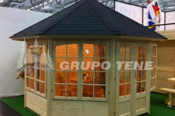 Casetas de madera en Grupo Tene 4157