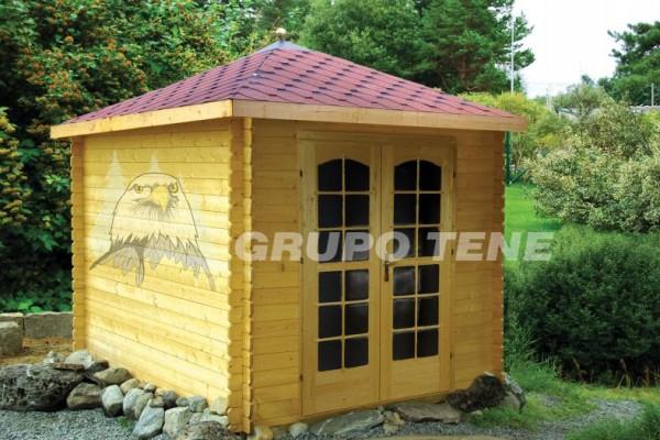 Casetas de madera en Grupo Tene 4158