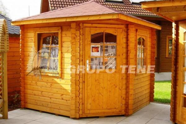 Casetas de madera en Grupo Tene 4144