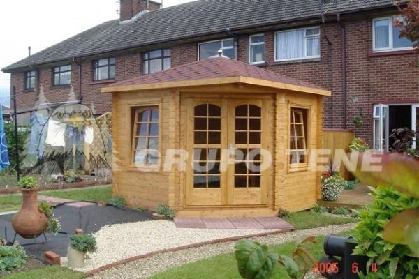 Casetas de madera en Grupo Tene 4145