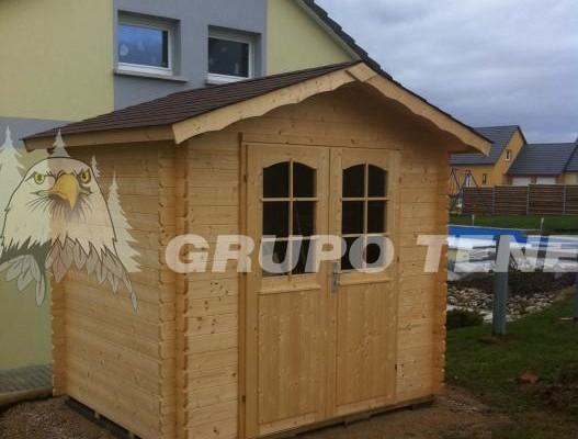 Casetas de madera en Grupo Tene 4147