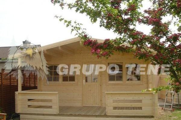 Casetas de madera en Grupo Tene 4149