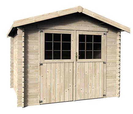 Porches de madera leroy merlin pergolas de madera precios - Listones madera leroy merlin ...
