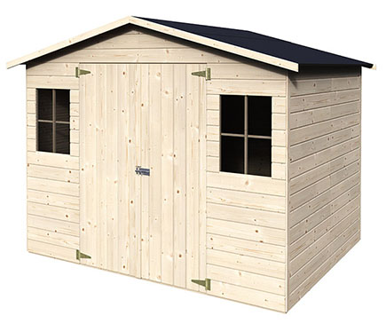 Casetas de madera en Leroy Merlin 2976